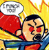 punch you