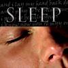 Sleeping!Sam close-up Sleep text