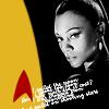 A work in progress: Trek Uhura Promo