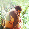 Carly: [LOST] jate hug in the woods