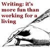 scarlettina: Writing: More fun
