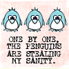 !! pinguins are stealing my sanity