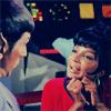 Janne: trek Uhura flirty