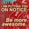 Amanda: be more awesome