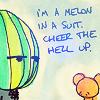 Random: Melon heads make it all better