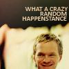 crazy random happenstance