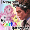 sparkly kind