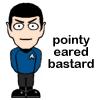 spock pointy eared bastard