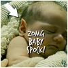 ljc: star trek (baby spock)