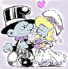 Wedding Smurfs