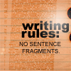 writing:sentence fragments
