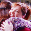 Hug: Sookie and Lorelai