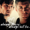 and then we lit it on fire: spn always there