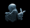 Birth of the white rabbit
