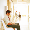 Kirsti: Mulder waiting in hospital hallway