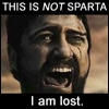 This is NOT Sparta I am lost!