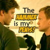 Dr Horrible - hammer/penis