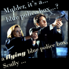 mulder/scully tardis