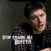 Supernatural- Call me buffy