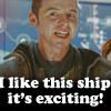 "Star Trek Scotty ""I like this ship!"""