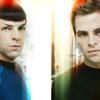 Lady E: spock & kirk