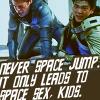 Gaiden Tanreall Dalisar: Spacejump / Startrek