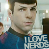 Spock - I love nerds