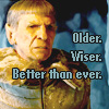 Cheezey: Spock - Older better wiser