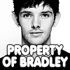 Valderys: Colin Morgan - Property of Bradley