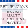 denying reality