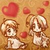 [Anime]AP Hetalia-Canada&USA Baby