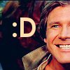 yappichick: Star Wars: Han: Smile
