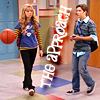 icarly seddie hallway encounter
