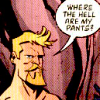 Oliver Queen: where are my pants?
