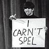 Ringo; Carn't spel; mine