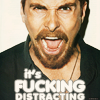 indie: Christian Bale FUCKING DISTRACTING