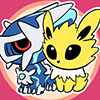 Jolteon/Dialga Pokedolls