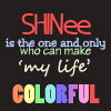 shinee colorful words