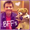 Campaspe: RP \\ Misha Collins & Castiel Bear