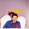 |528491| wishful feather ⇧: Misha & Jared | Angel or Demon?