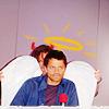 |528491| wishful feather ⇧: Misha & Jared | Angel or Demon?