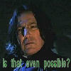 therealsnape: Applauds Fanfic