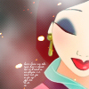 月影のエーフィ: *disney* Mulan - Close Up