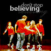 Louise: Glee | don't stop believing