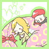 Eva+Ocelot snake cuddle