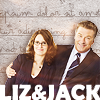 haters to the left: jack/liz - liz&jack arm around