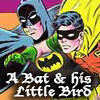 batman--robin (a bat & his little bird)