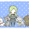 anime/ mgs sniper wolf puppies