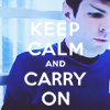 spock: keep calm and carry on