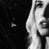 she said mysteriously: Jo